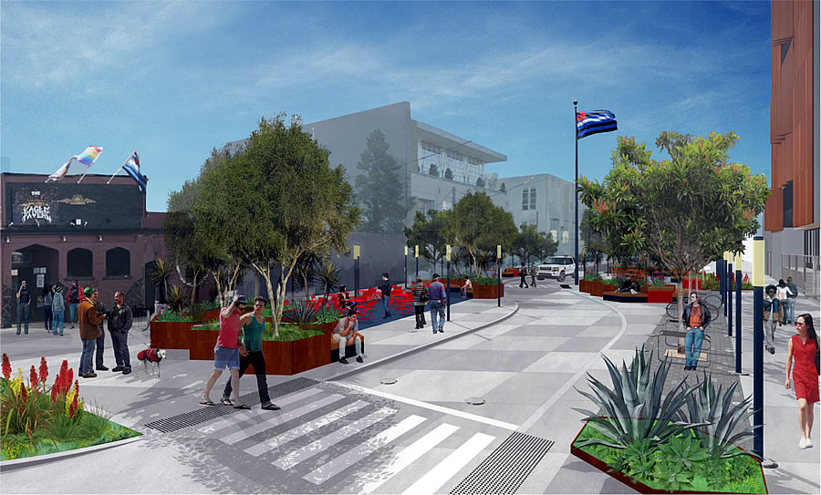 Eagle Plaza Rendering