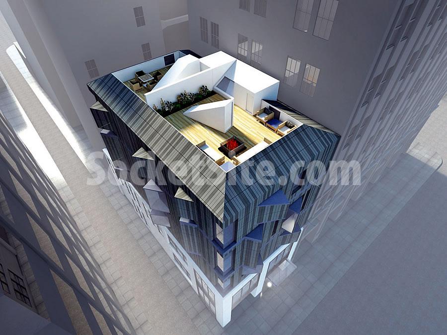 220 Battery Rendering: Roof Decks