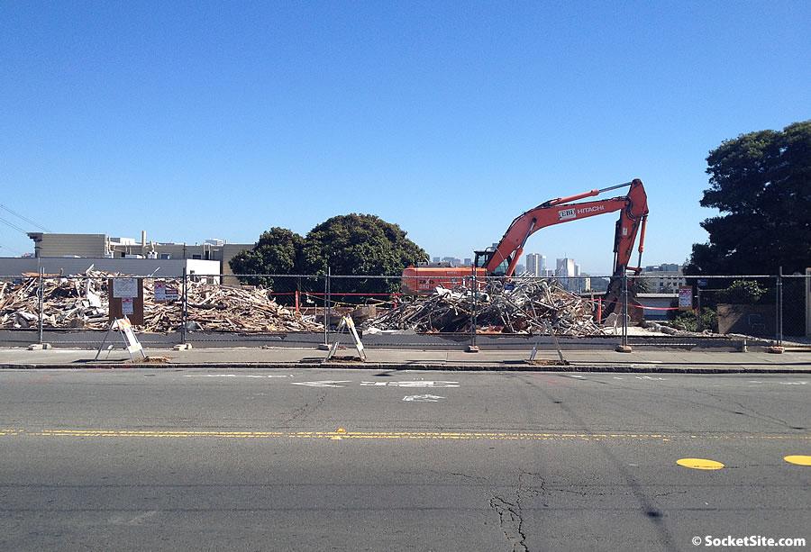 800 Presidio Avenue Demolition