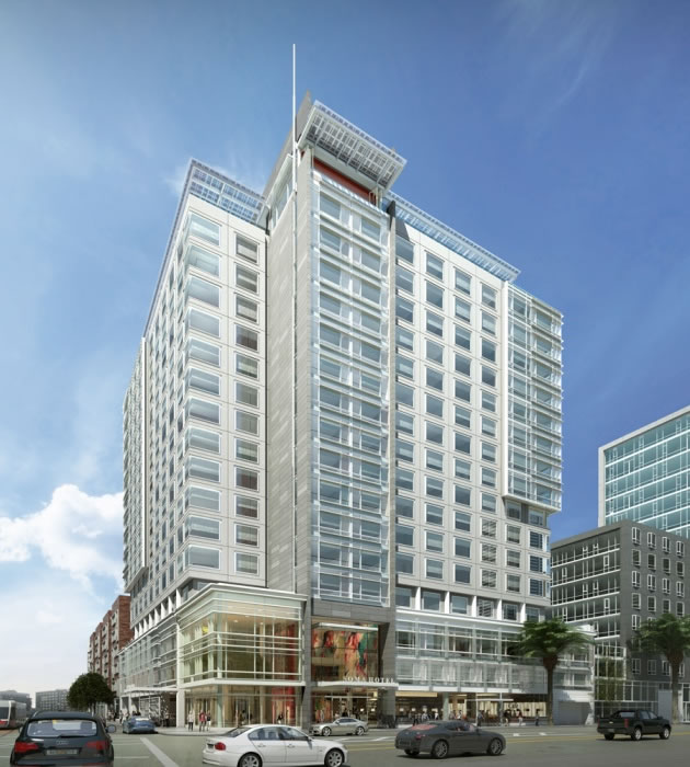 Soma Mission Bay Hotel Rendering 2015