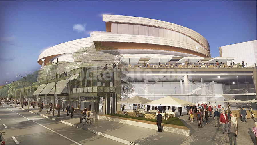 Warriors Mission Bay Arena Rendering 11-3 Soffits