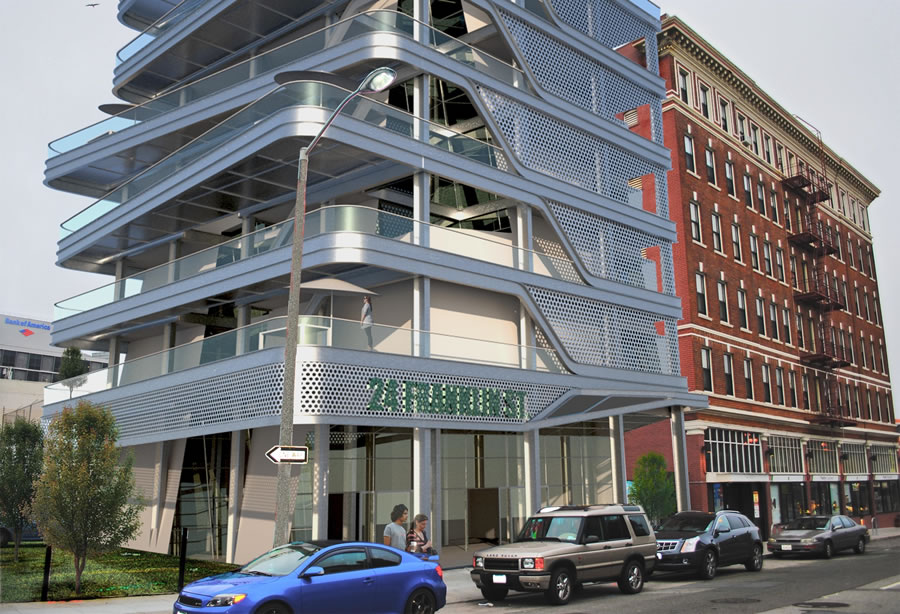 24 Franklin Rendering