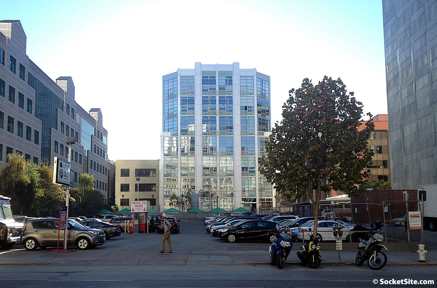 Downsized Plans for a Towering SoMa Hotel Right Here