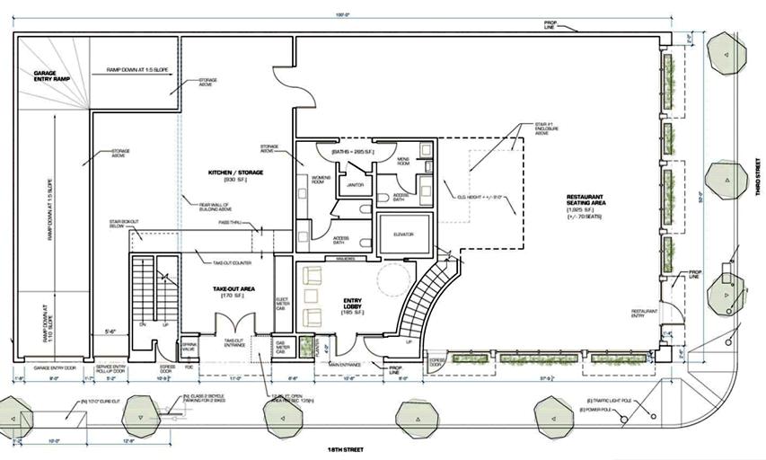 600 18th Street Ground Floor Plan