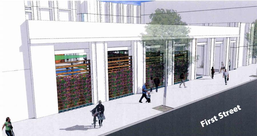 SFDC 50 Fremont Plan First Street