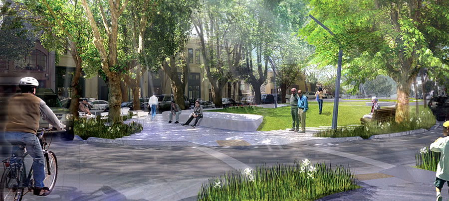 South Park Improvement Project Rendering