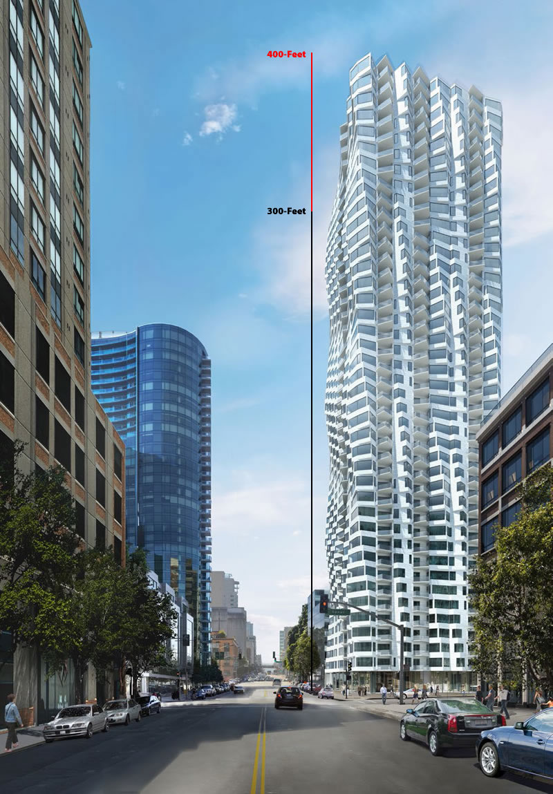 Hearing for Twisty Tower's Proposed Height Increase Underway