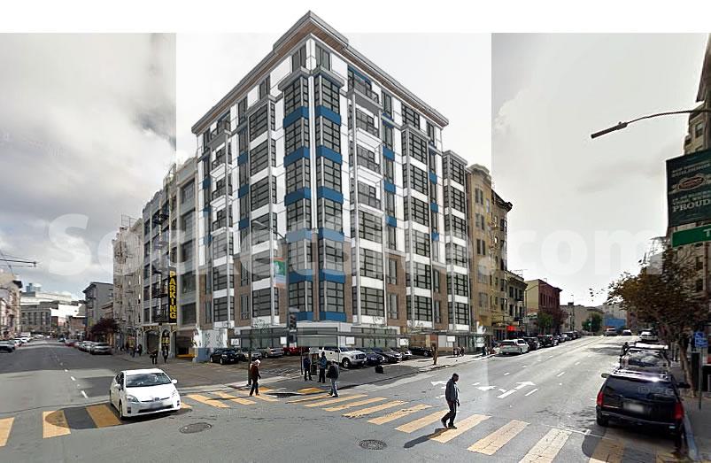 180 Jones Street Rendering circa 2015