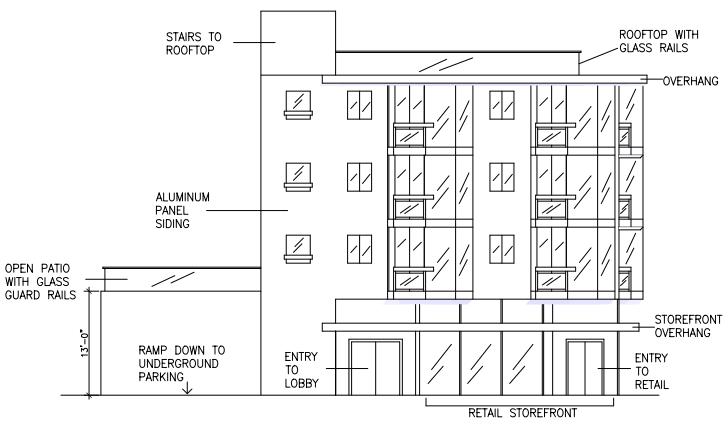 2101 Lombard Street Elevation