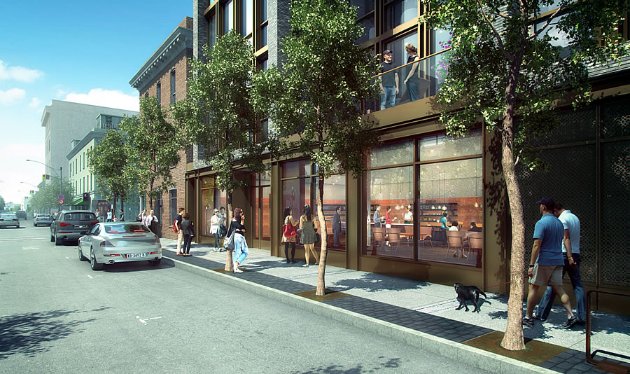 240 Pacific Rendering: Pacific Retail