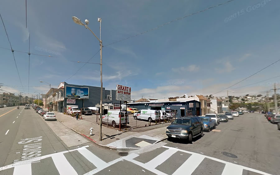 Outer Mission Corner in Contract, Zoned for More Height and Density