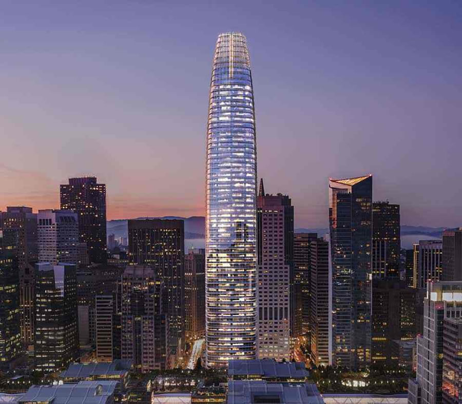 Transbay Tower Rendering