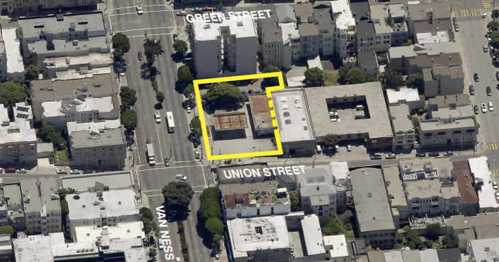 Formal Application for Van Ness Development Filed
