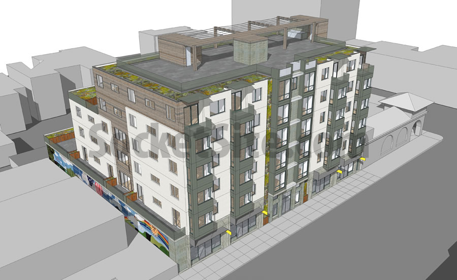 2918 Mission Street Rendering
