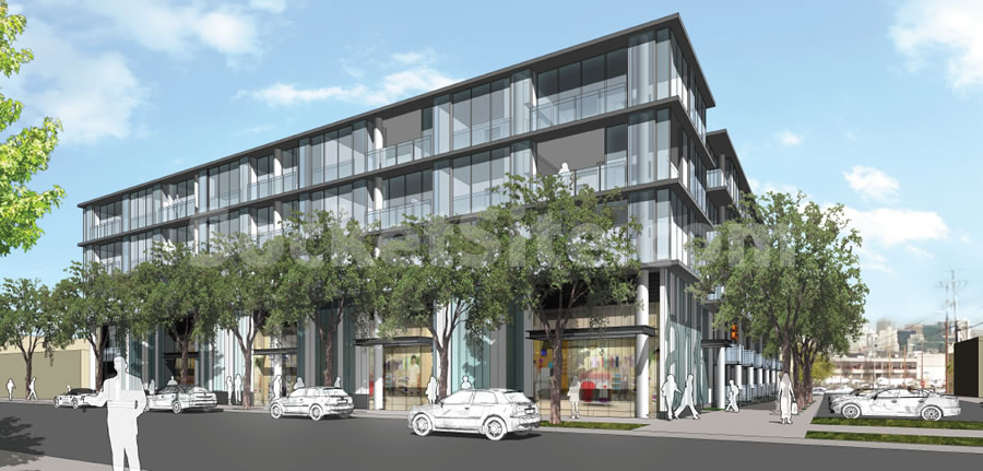 Progress for a Proposed 127-Unit Potrero Hill Development