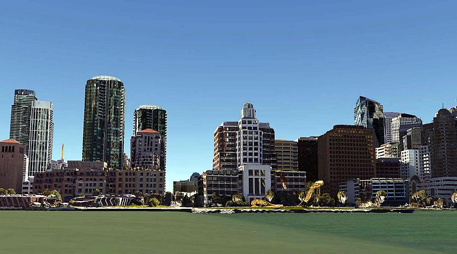 San Francisco South Beach Waterfront circa 2014