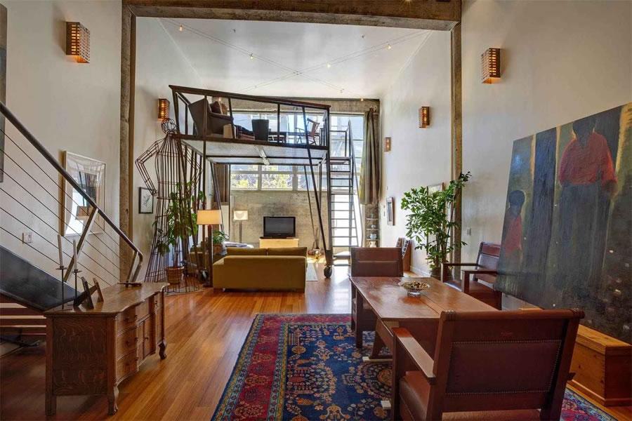 A Moveable Loft Mezzanine and Bonus Space