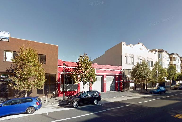 461 Valencia Street Site