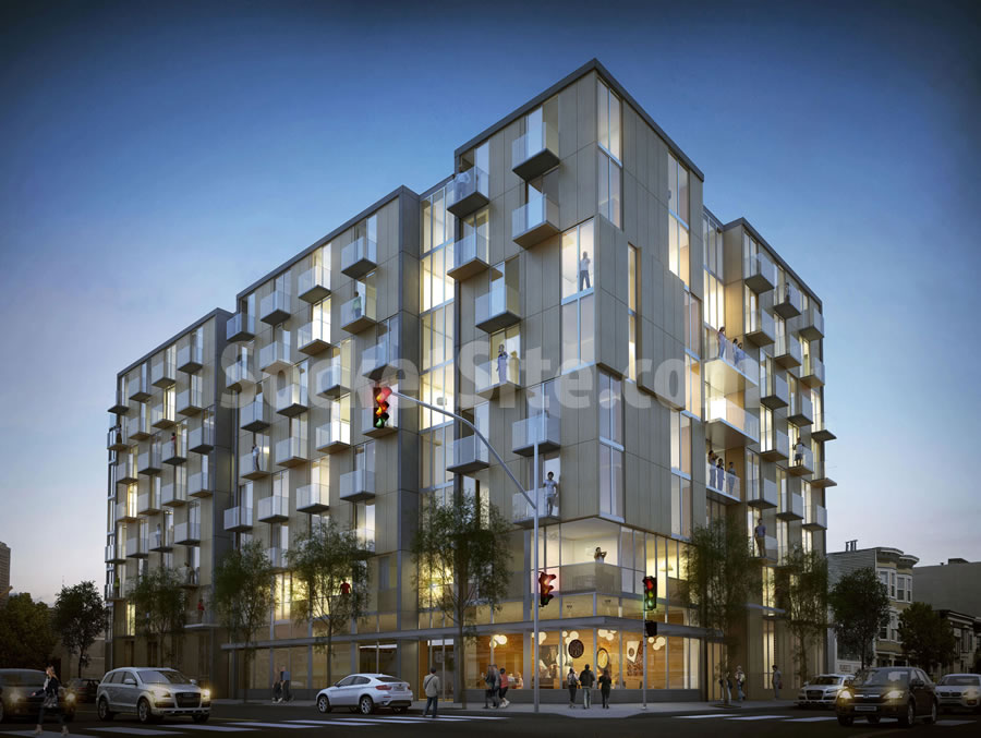 Hearing for 100 Units of Housing to End up at 6th and Harrison