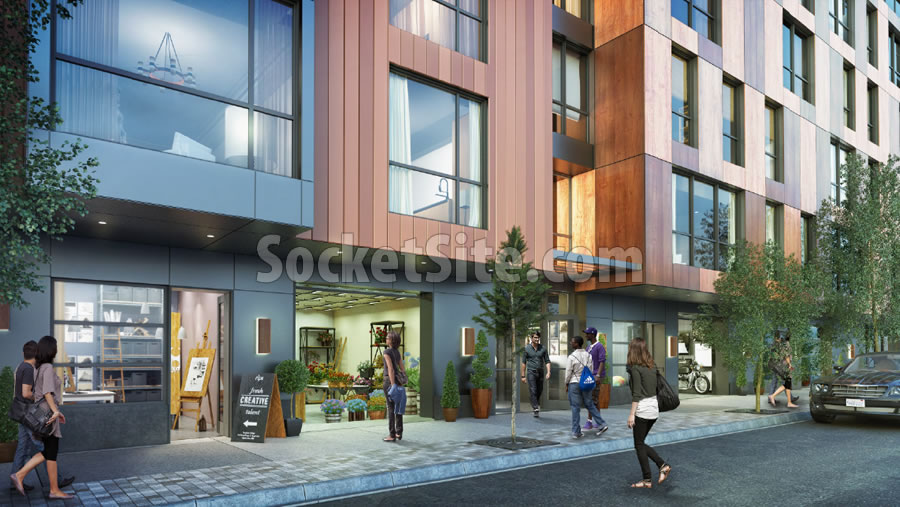 1515 South Van Ness Rendering: Trade Shop Spaces