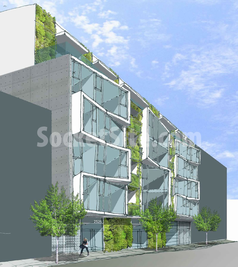 New Condos Proposed for Big Bubble Site