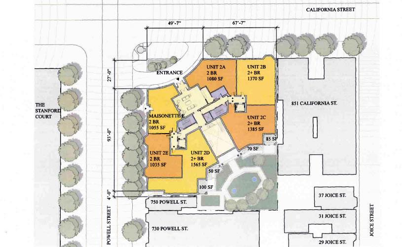 875 California Site Plan