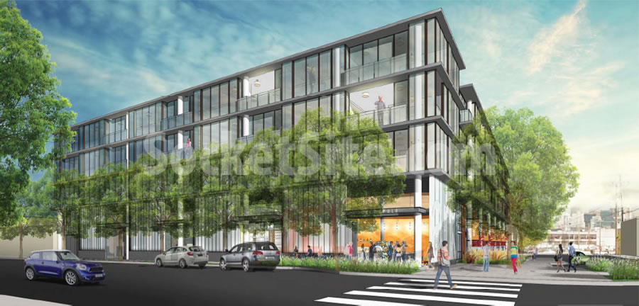 88 Arkansas Rendering: 17th Street