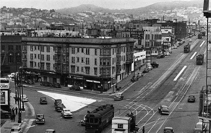 The Hub circa 1945