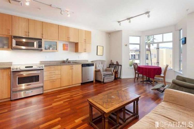 1587 15th Street #403 Living