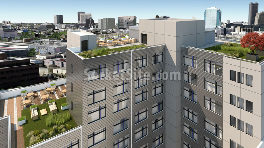 701 Third Street Rendering - Decks