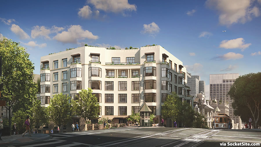 Prominent Nob Hill Corner Closer to Proposed Reality