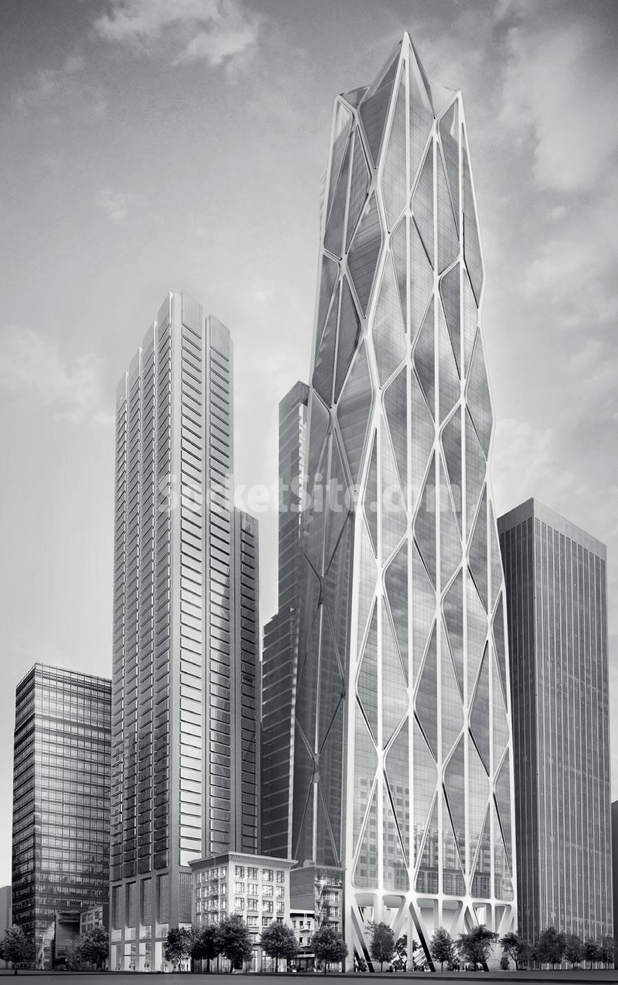 Oceanwide Center Design
