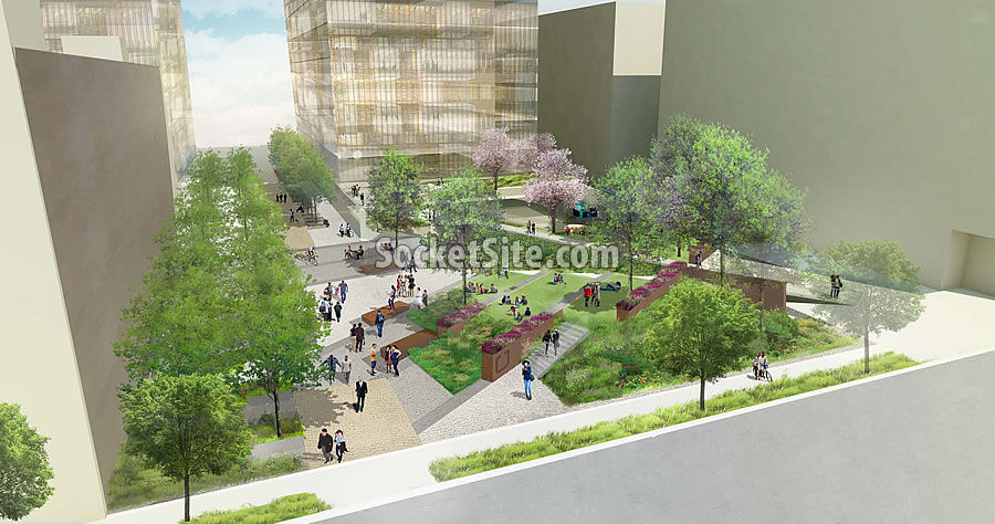 Uber Mission Bay Campus Rendering 2016 - POPOS