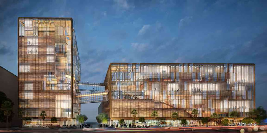 Refined Designs and Timing for Uber's New HQ and Open Space