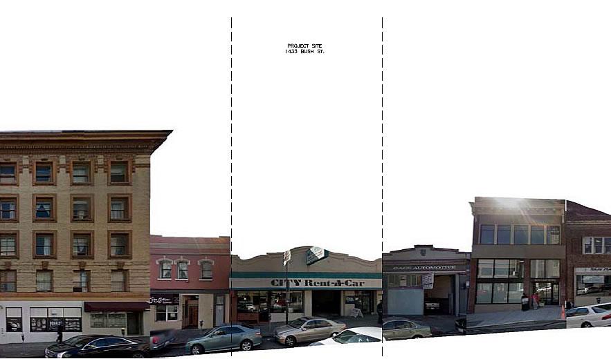 1433 Bush Street Site