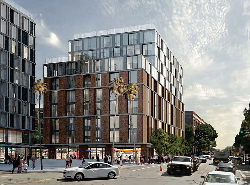 1979 Mission Rendering: 16th Street Building