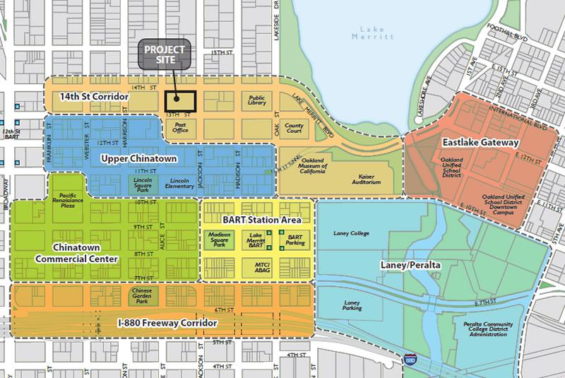 226 13th Street Map