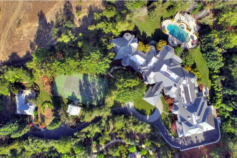 27040 Old Trace Lane Aerial