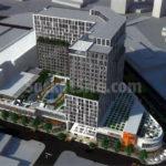 Designs for Proposed 448-Unit Auto Row Development in Oakland