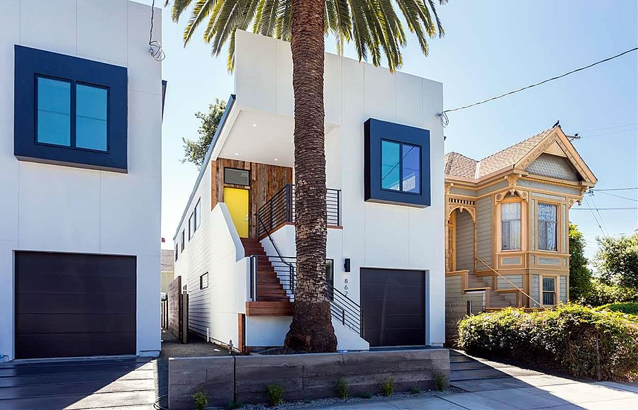 Contemporary West Oakland Infill at $367 per Square Foot