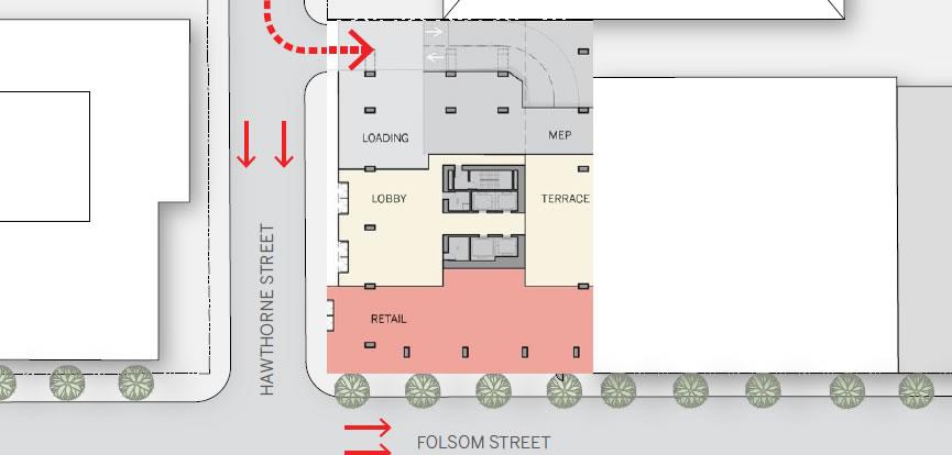 95 Hawthorne Street Ground Floor Plan