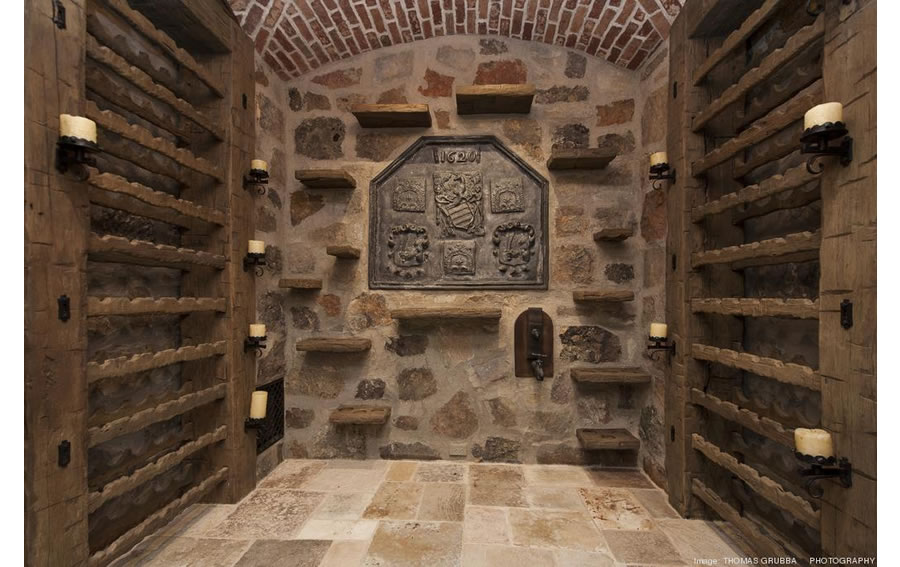 Fieldhaven Estate: Wine Cellar