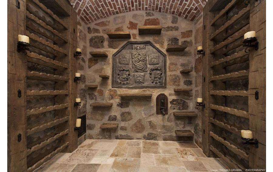 Fieldhaven Estate: Wine Cellar