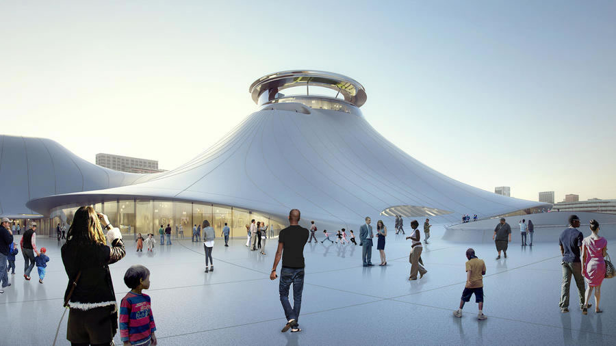 Lucas Abandons Chicago Museum Plan, It's Headed Back to California