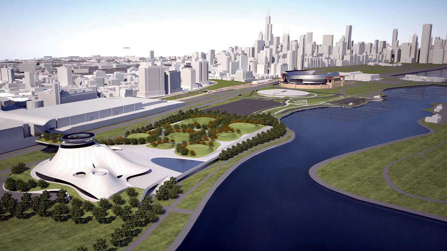 Lucas Cultural Arts Museum Chicago: New Site