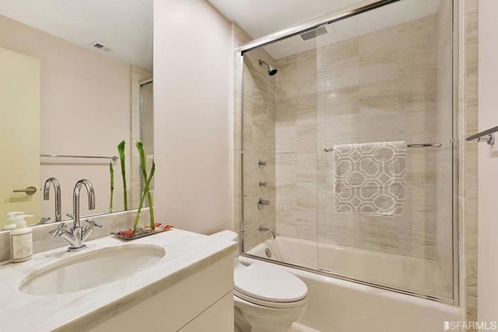 1150 Sacramento Street #202: Bathroom After