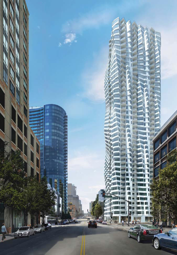 160 Folsom Rendering - Bay Tower