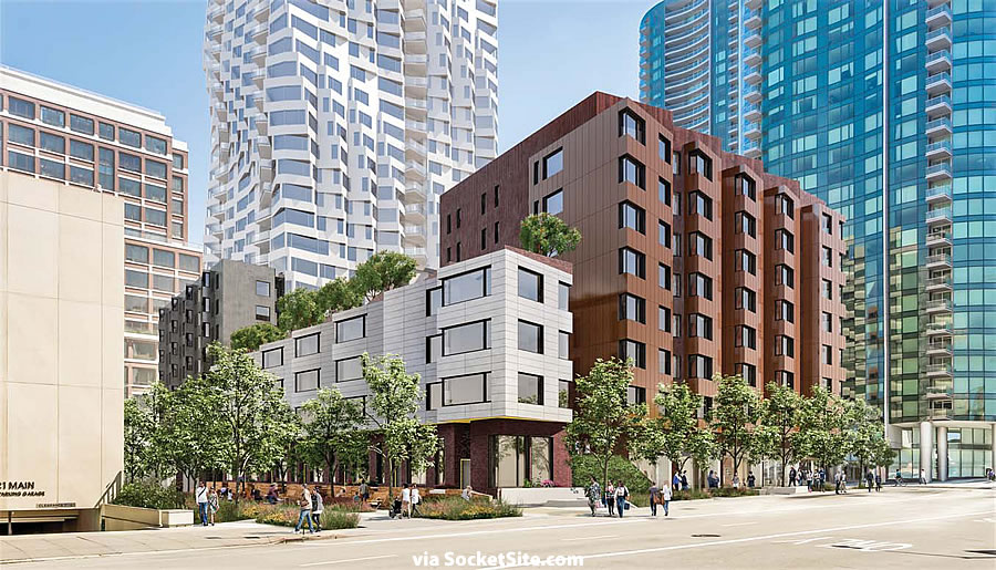 160 Folsom Rendering: Clementina Alley