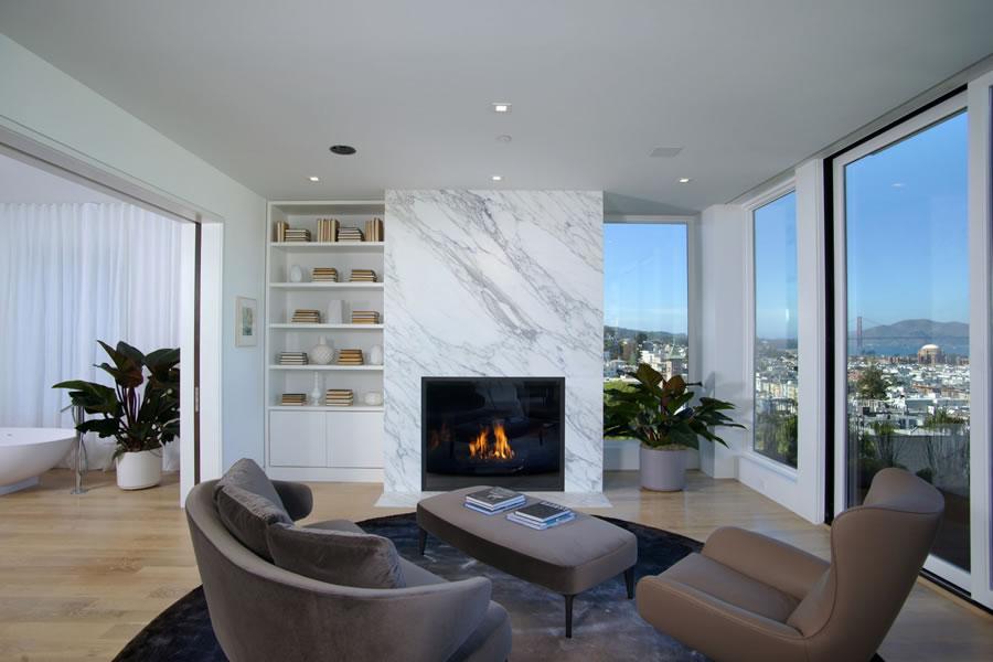 2250 Vallejo Master Bedroom View