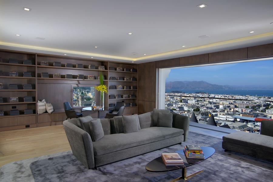 2250 Vallejo Media Room View